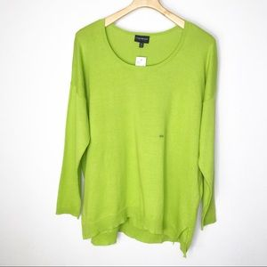 Lane Bryant Green Sweater NWT 18/20